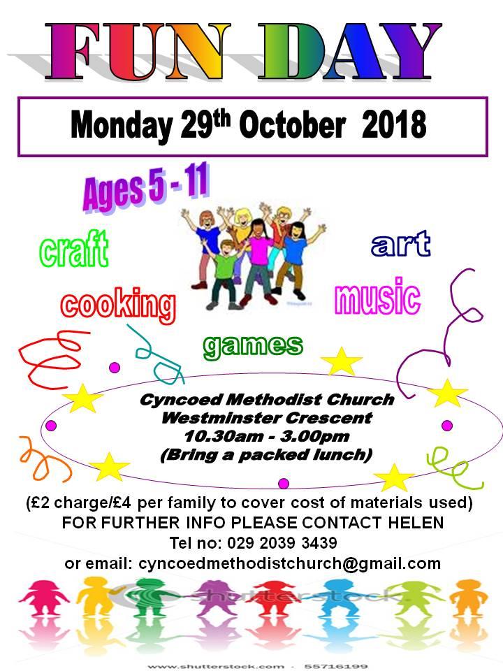 Cyncoed Methodist Church Fun Day